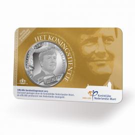 Nederland Het Koningstientje 2013  UNC coincard