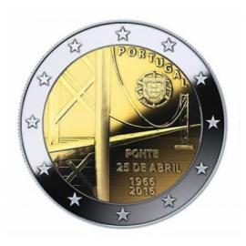 Portugal 2 euro 2016   25 April Brug   UNC