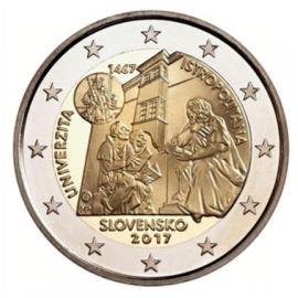 """VVK Slowakije 2 Euro """"Istropolitana"""" 2017"""