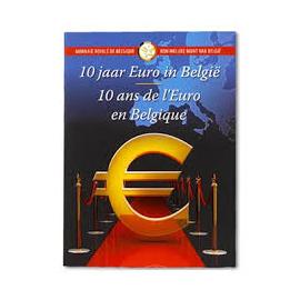 "België 2 Euro ""10 Jaar Euro 2012"" BU in coincard"