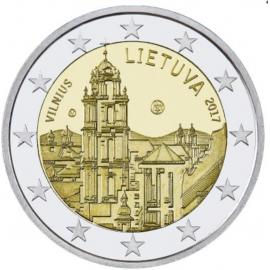 "Litouwen 2 Euro  ""Vilnius"" 2017  UNC"