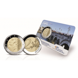 2 euro 2017 Sint Servaasbrug BU in coincard