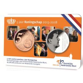 5 jaar Koningschap in coincard  2018