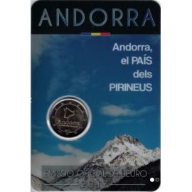 VVK Andorra 2 euro 2017  Land van de Pyreneeën Coincard