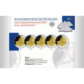 """Duitsland 2 euro 2018 """"Berlijn""""  PROOF"""