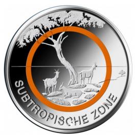 VVK Duitsland 5 euro 2018 Subtropische Zone