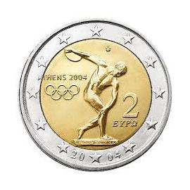 "Griekenland 2 Euro 2004 ""Olympia"""