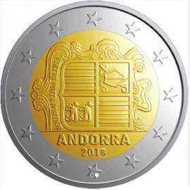 """Andorra 2 Euro 2018 """"Normaal"""""""