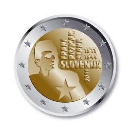 """Slovenië 2 Euro 2011 """"Franc Rozman"""""""