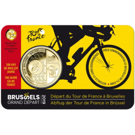 VVK België 2,5 euro 2019 'Grand Départ Brussel' BU in coincard FR