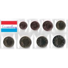 Luxemburg UNC set 2019 met muntteken Servaas