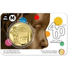 België 2,5 € Tour 2019 Manneken Pis BU coincard FR