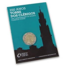 """Portugal 2 Euro 2013 """"Clérigos"""" BU in coincard"""