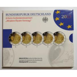 "Duitsland 2 euro 2013  ""Elysee""  PROOF"