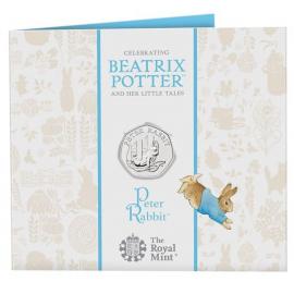 Beatrix Potter munt 50 Pence 2020 Verenigd Koninkrijk Blister