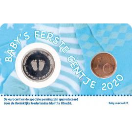 Baby Coincard 2020 Jongen