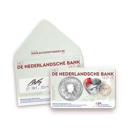 Het 'de Nederlandsche Bank' Vijfje Verzilverd in coincard Eerste Dag-uitgifte