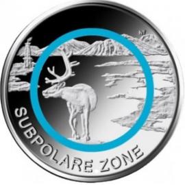Duitsland 5 euro 2020  Polaire Zone