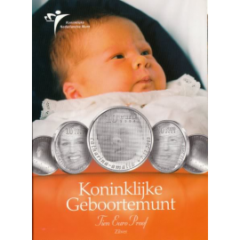 "10 Euro ""Geboortemunt"" 2004 Zilver Proof in Blister"