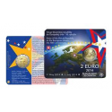 "Coincard Slowakije 2 Euro 2014 ""10 Jaar EU"" BU"