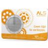 Stichting ALS Nederland penning Coincard