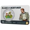 België 5 euro  2021  '75 jaar Blake & Mortimer' Coincard Kleur