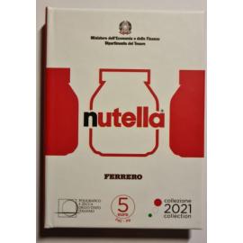 Italië 5 € Italië Excellence 2021 Nutella Rood Blister