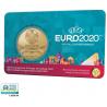 België 2,5 euro 2021 'UEFA EURO 2020'  Coincard FR-DU