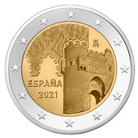 Spanje 2 Euro  2021  Toledo UNC
