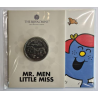 Engeland £5 Mr. Strong and Little Miss Giggles- Mr. Men Little Miss 2021 Blister