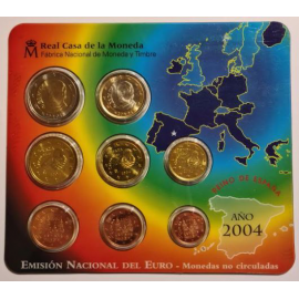 Spanje BU set 2005
