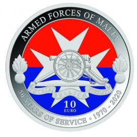 Malta 10 Euro Strijdkrachten van Malta Zilver Proof 2021