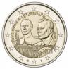 Luxemburg 2 Euro 2021 Groothertog Jean Relief UNC