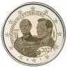 Luxemburg 2 Euro 2021 Groothertog Jean Foto UNC