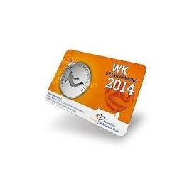 WK Oranjepenning 2014 in Coincard