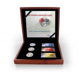 Zilveren 'de Nederlandsche Bank' Kleurset 2014