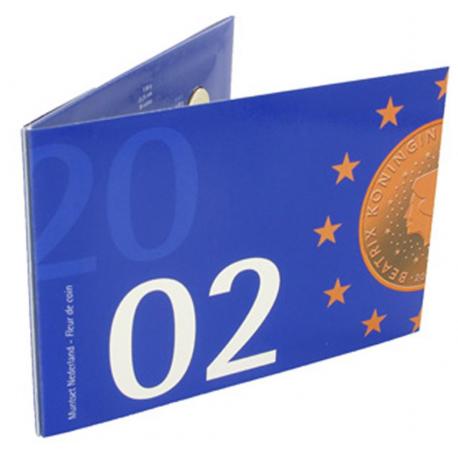 Jaarset Nederland guldenmunten 2002 FDC / BU