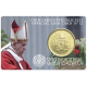 Vaticaan 50 Cent 2021  BU Coincard nr 12