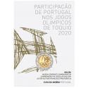 "Portugal 2 Euro ""Olympische Spelen"" 2021  BU coincard"