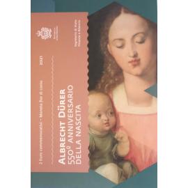 San Marino 2 Euro  Albrecht Dürer 2021 Blister / Coincard