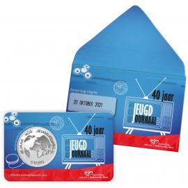 *Nederland NOS Jeugdjournaal Vijfje 2021 1e dag uitgifte coincard