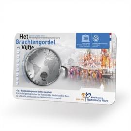 Nederland Het Grachtengordel Vijfje 2012  BU coincard