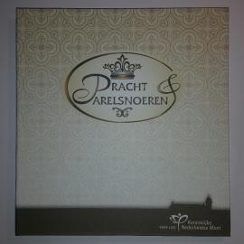 Complete verzameling 12 verzilverde uitgiften Pracht & Parelsnoeren in coincard in album