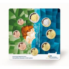 UNC set Nederland 2015 in luxe verpakking