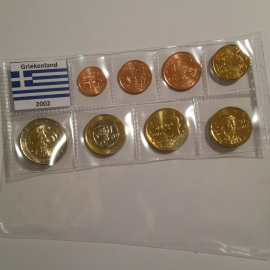 Griekenland UNC set 2002