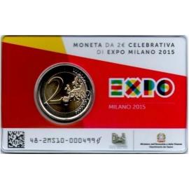 Italië Coincard Expo Milaan 2015  BU