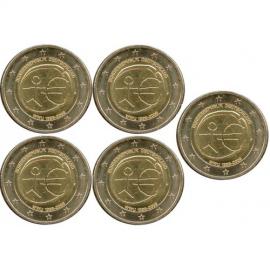 Duitsland 2 euro 2009 'EMU'  ( letter G )